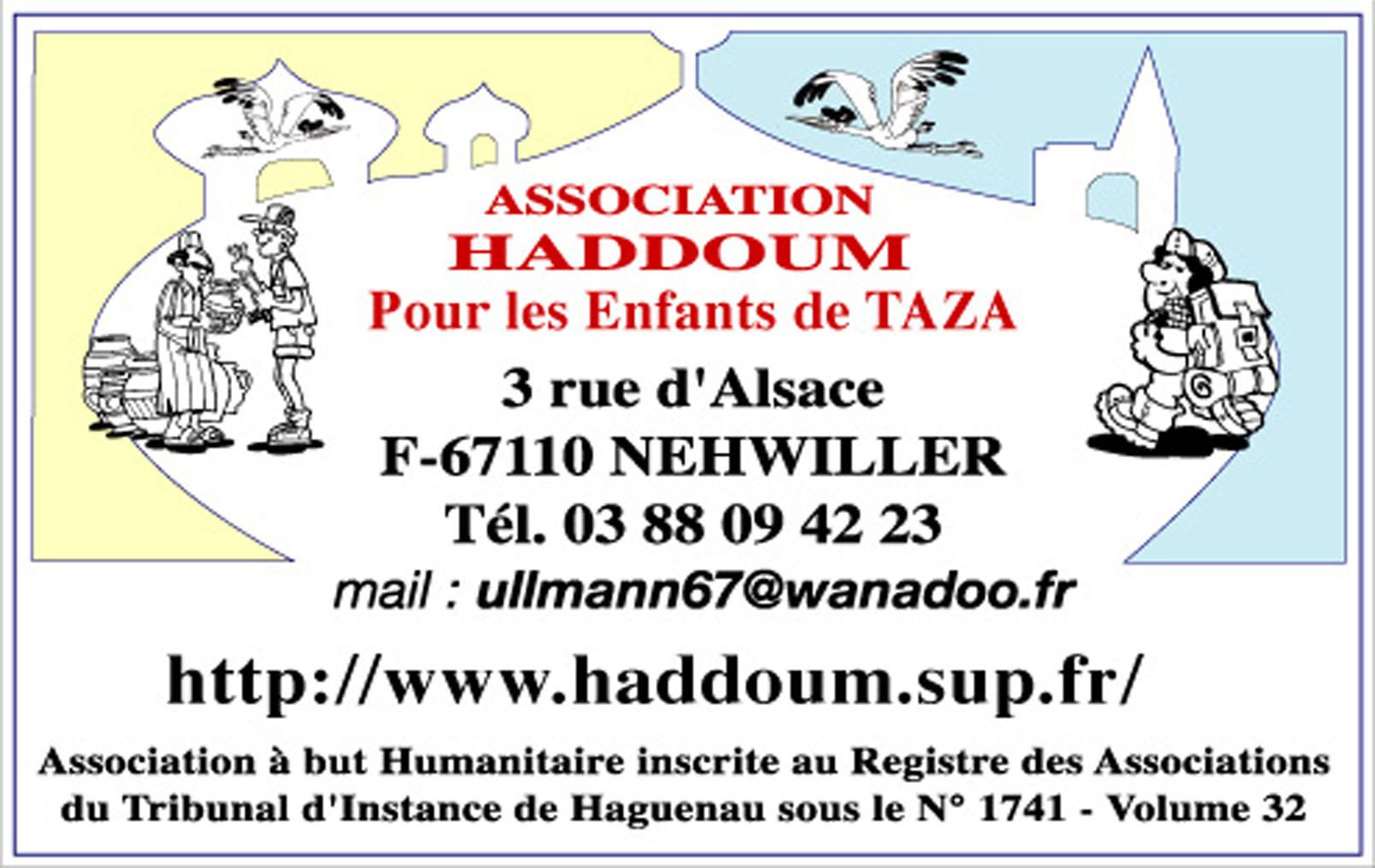 HADDOUM CARTE DE VISITE